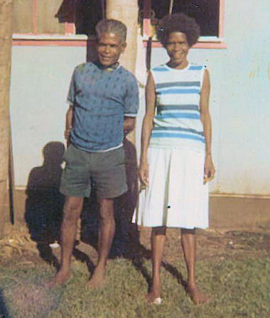 Father Gerald and Lydia Maibani circa 1972