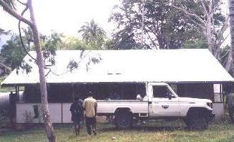 Typical PNG Aid Post