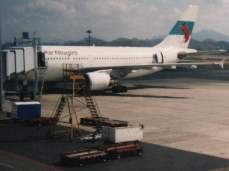 Our Plane (Air Niugini A310 Airbus)