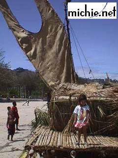 Lakatoi Canoe - Hiri Moale Festival 1999
