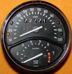 MotoMeter tacho/speedo