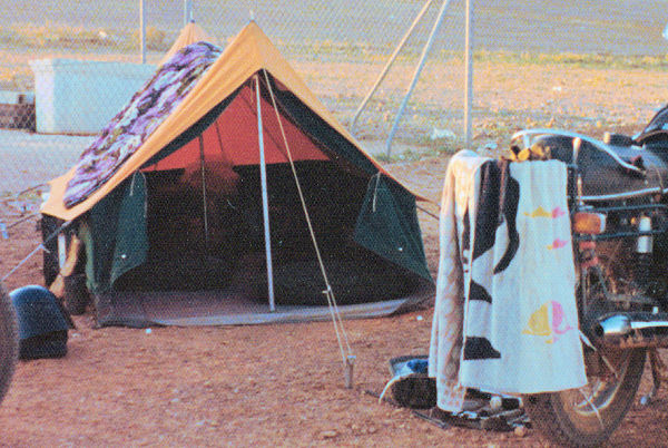 Coober Pedy camp site