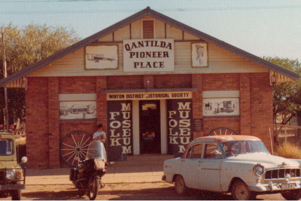 Winton, Queensland - birthplace of Qantas