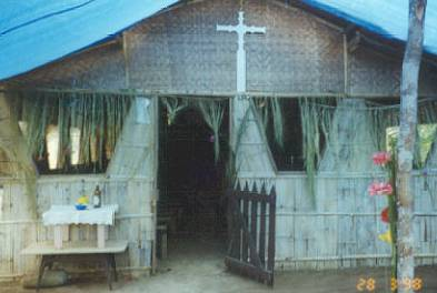 Typical Anglican Church Building