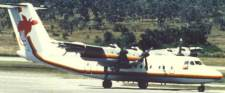 Dash 7 in old colours