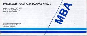 MBA Airlines of PNG