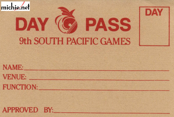 Day Pass to the 9th SP Games
